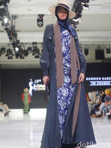 Desainer Kursien Karzai Sajikan Batik Betawi Rasa Eropa