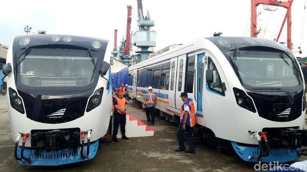 Sisa Kereta LRT Palembang Made in Madiun Dikirim Juli