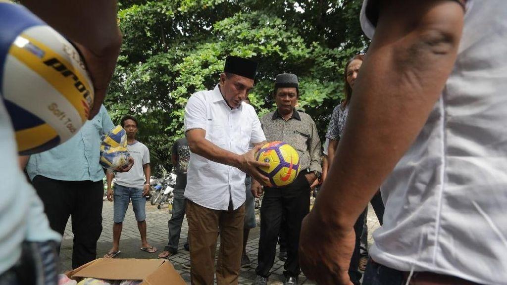 PSMS Medan Berharap Stadion Baru dari Cagub Edy Rahmayadi