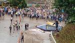 Penampakan Heli Jatuh di Morowali yang Angkut Warga China