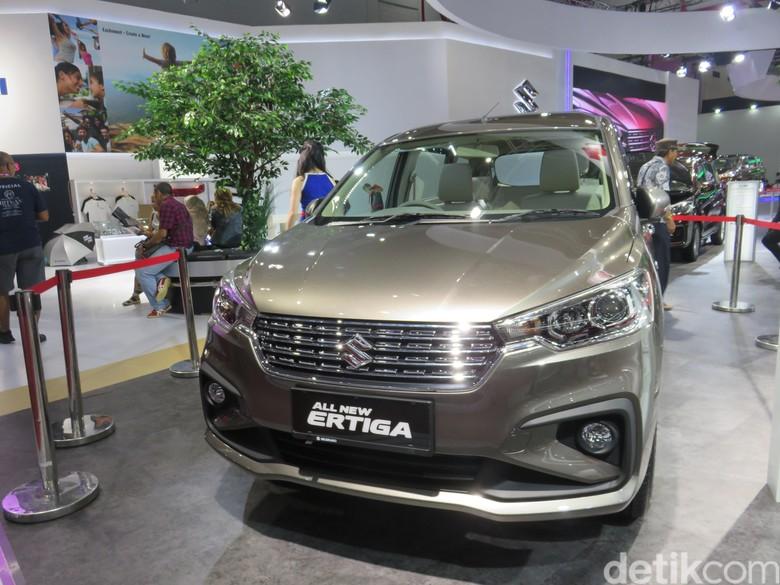 Suzuki Ertiga terbaru model 2018. Foto: Dadan Kuswaraharja