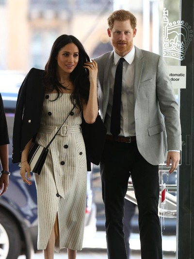 Meghan Markle dan Pangeran Harry. Foto: Getty Images