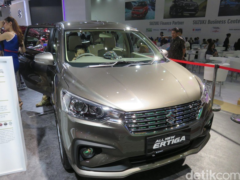 Suzuki All New Ertiga Foto: Dadan Kuswaraharja