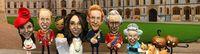 Wow! Kacang Tanah Diubah Jadi Miniatur Keluarga Kerajaan Inggris Saat Pesta Pernikahan