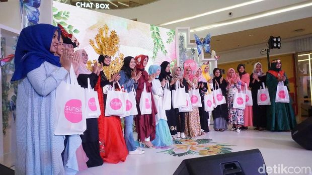 Audisi Sunsilk Hijab Hunt 2018 Medan.