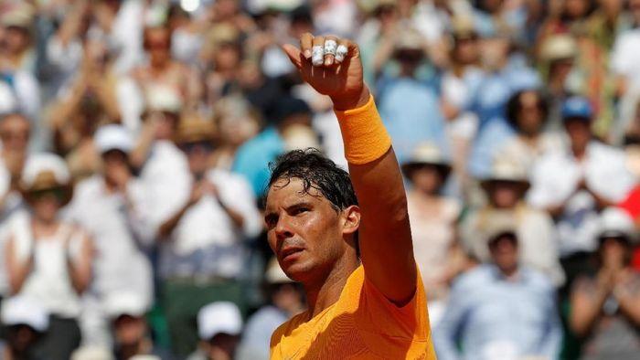 Rafael Nadal melenggang ke final Monte Carlo Masters dan akan menghadapi Kei Nishikori. (Foto: Eric Gaillard/Reuters)