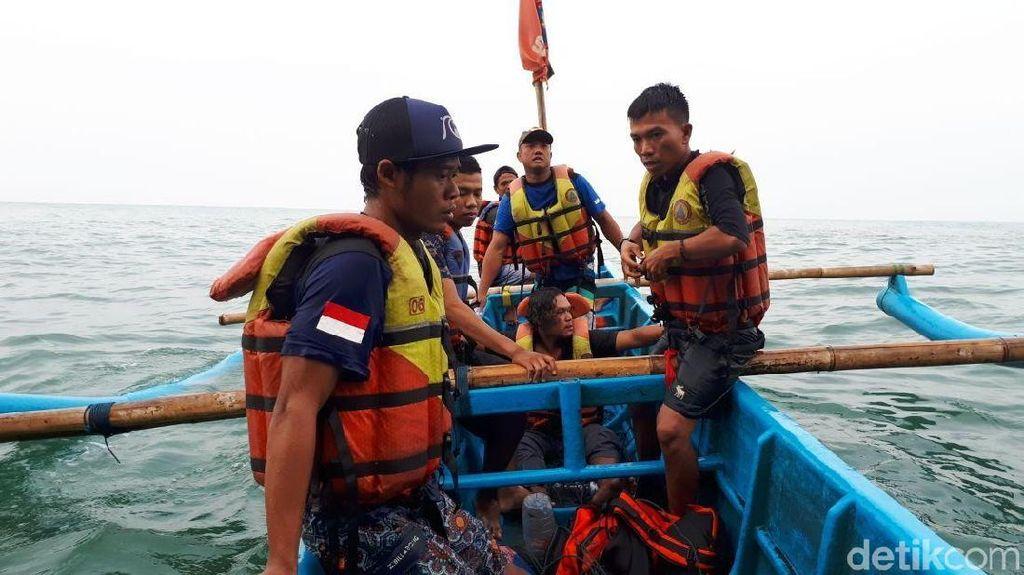 Pemancing Terjebak di Gua Langse Gunungkidul Berhasil Dievakuasi