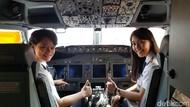 Suka Duka Jadi Pilot Wanita