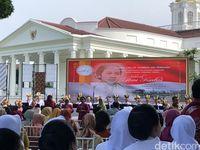 Hari Kartini, Iriana Kumpulkan Istri Menteri-Gubernur di Istana Bogor