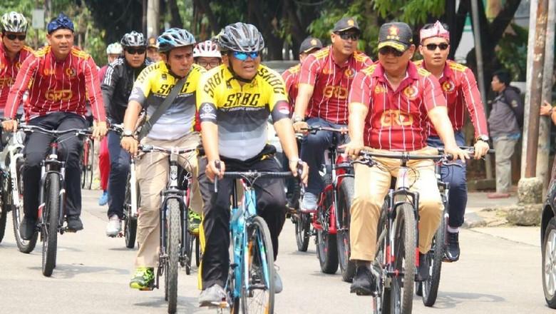 Naik Sepeda Bareng Prabowo, Sohibul: Relaksasi Biar Nggak Tegang