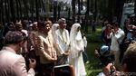 Intip Lagi Proses Nikahan Syahnaz dan Jeje Govinda