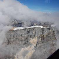 Es abadi yang terlihat dari helikopter (Adventure Carstensz)
