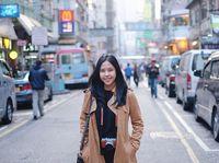 Foto liburan Tania di Hong Kong
