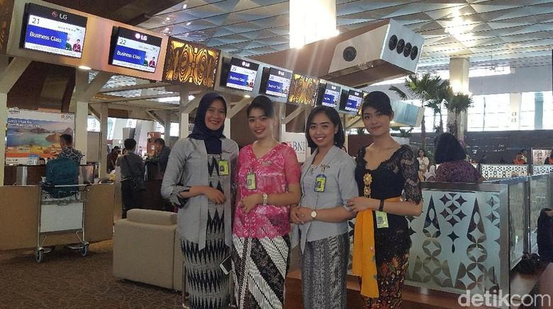 Garuda Indonesia memperingati Hari Kartini  (Syanti/detikTravel)