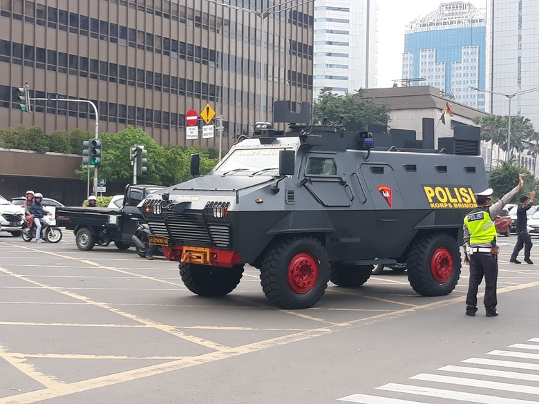 Jl Thamrin Ditutup karena Syuting Film 22 Menit, Lalin Dialihkan