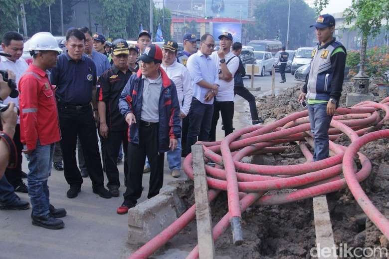 Pjs Wali Kota Palembang Ngamuk, Minta Proyek Galian PLN Dihentikan!