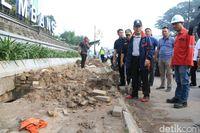 Pjs Wali Kota, Ahmad Najib saat melakukan sidak.