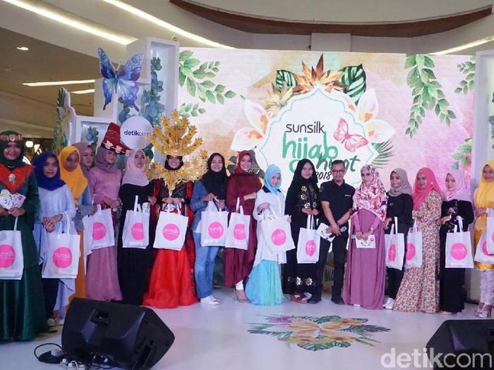 Audisi Sunsilk Hijab Hunt 2018 Medan. Foto: Daniel/Wolipop