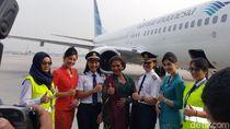 Sumringah, Kartini Flight Bersama Menteri Susi