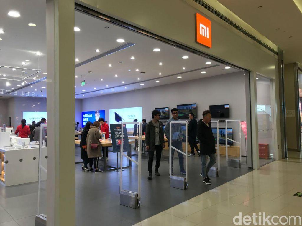 Beberapa waktu lalu, detikINET sempat mampir di salah satu Mi Store di kota Hangzhou, China. Foto: detikINET/Adi Fida Rahman