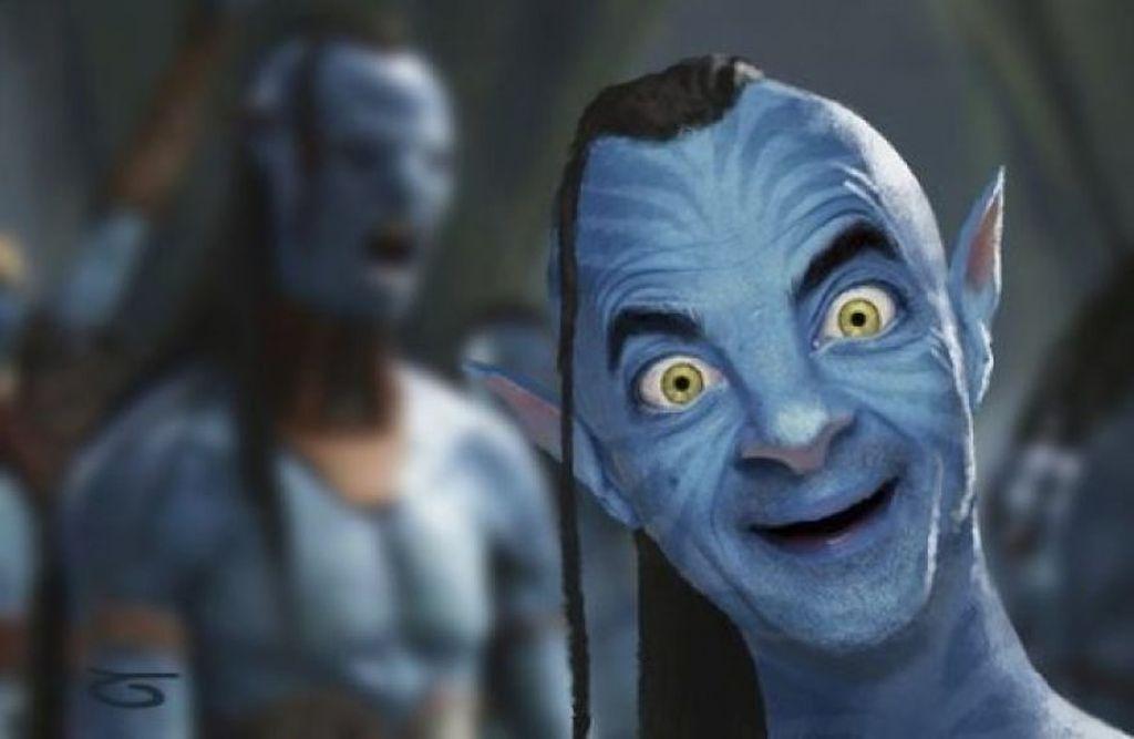 Jadi sosok Avatar. Foto: Imgur