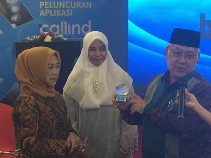 Prosesi peluncuran aplikasi Callind di Jakarta. Foto: kominfo