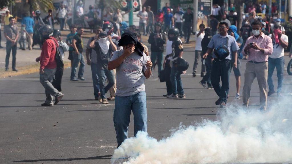 Kerusuhan di Nikaragua Tewaskan 100 Orang, Presiden Tolak Mundur