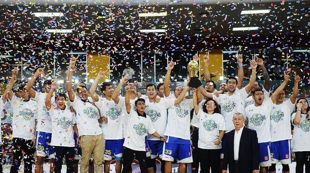 Satria Muda berhasil jadi juara IBL 2017/2018.
