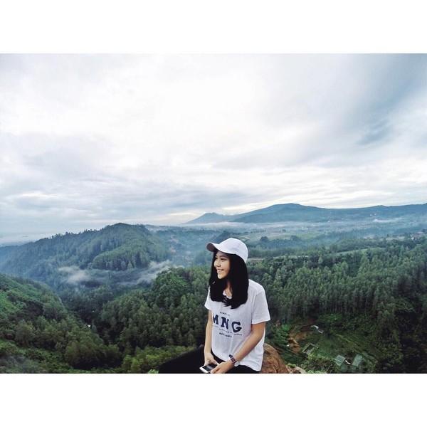 Di antara sekian banyak destinasi yang sudah dia kunjungi, Tania masih menyimpan satu destinasi impian yang ingin dia datangi. (Instagram/@taniawidjaya)