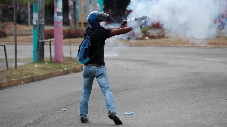 Potret Aksi Protes di Nikaragua yang Tewaskan 10 Orang
