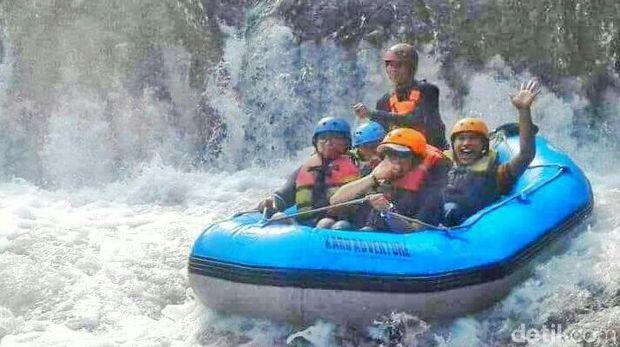 Rafting & Panahan Ramaikan Festival Jelajah Satu Minggu Banyuwangi