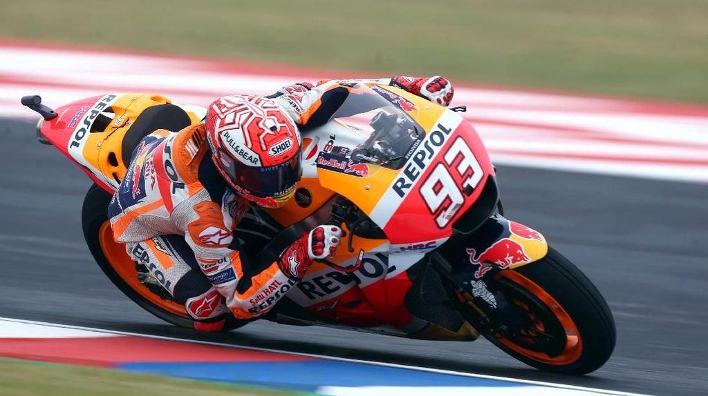Pede yang Besar Bikin Marquez Bangkit di Kualifikasi MotoGP Catalunya