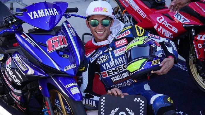 Pebalap Yamaha Wahyu Aji Trilaksana (Foto: dok.Yamaha Racing Indonesia)