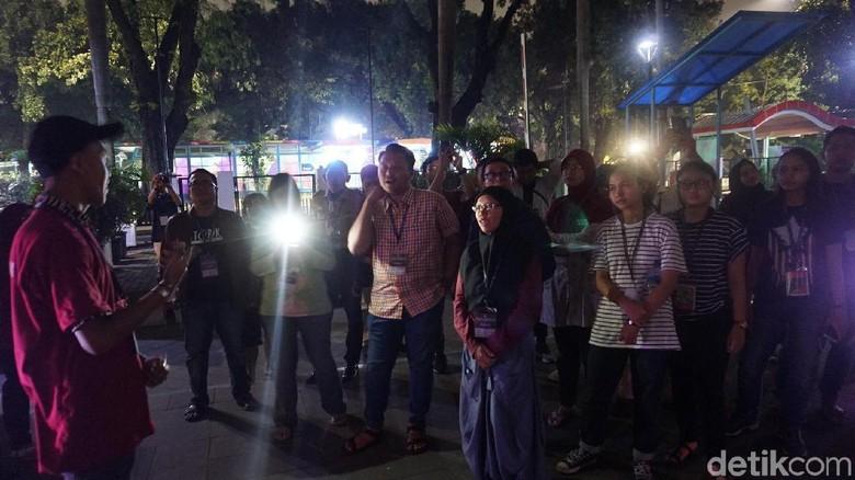 Foto: Pengunjung yang ikut acara Night at The Museum (Shinta/detikTravel)