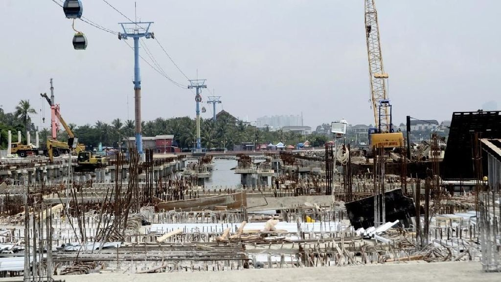Arena Jetski untuk Asian Games Dibangun di Ancol, Ini Penampakannya