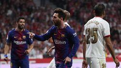 Messi Kuasai Kota Madrid Semalam