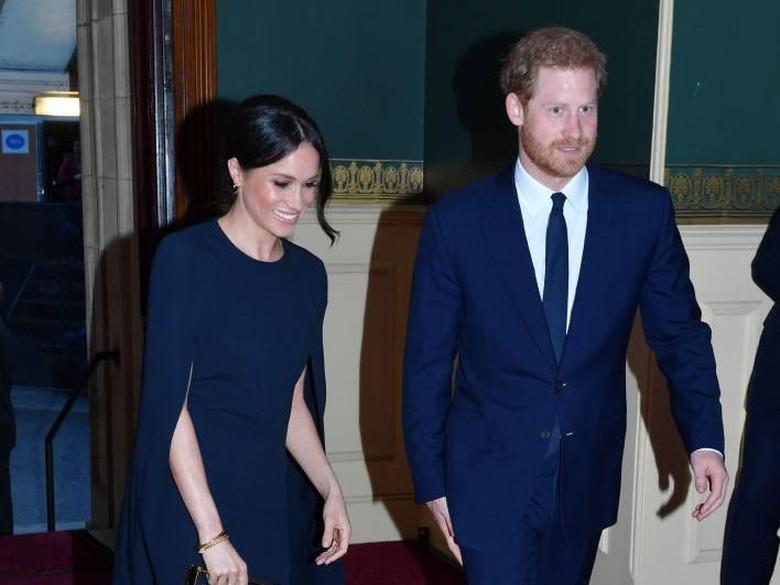 Kemeriahan Jalanan Inggris Jelang Pernikahan Harry-Meghan Markle