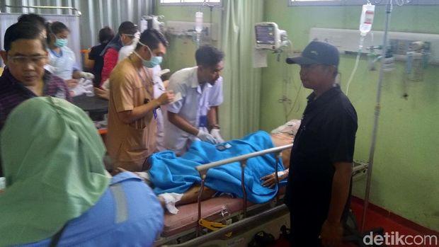 9 Korban ledakan kapal Dishub di Kepulauan Seribu masih menjalani perawatan di RS Koja, Jakarta Utara.