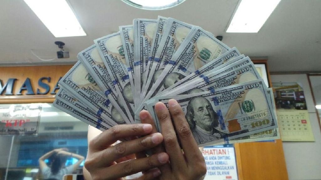 Dolar AS Menguat Tipis ke Rp 14.119
