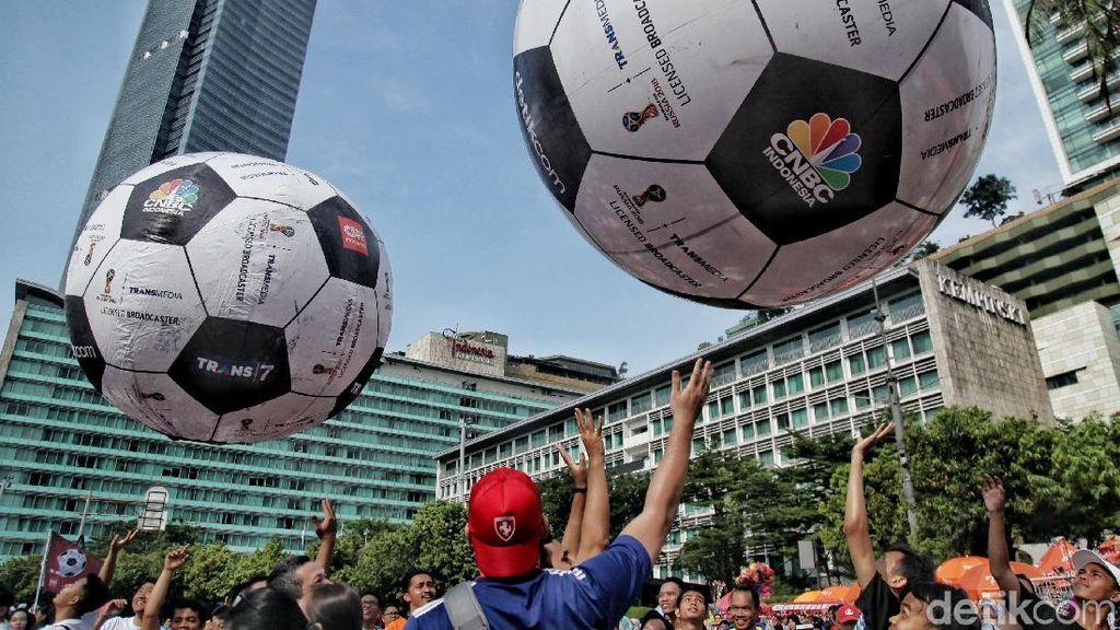 Keseruan Menyambut Piala Dunia di CFD