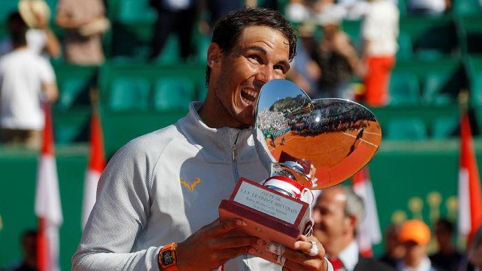 Rafael Nadal meraih gelar ke-11 di Monte Carlo Masters (Foto: Eric Gaillard/Reuters)