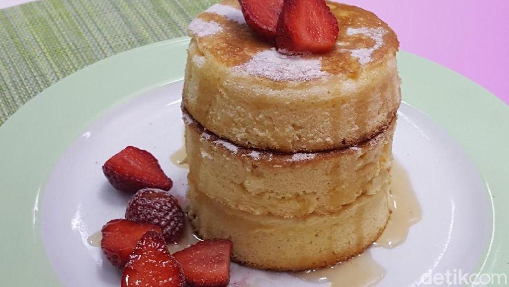 Resep Fluffy Pancake yang Enak dan Lembut