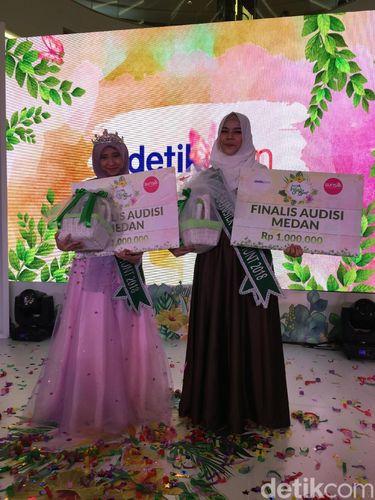 Pemenang Audisi Sunsilk Hijab Hunt 2018 di Medan.