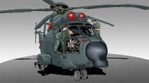 Tukang Bengkel Helikopter Tempur TNI Angkatan Udara