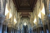 Keindahan interior masjid (mosquee-hassan2.com)