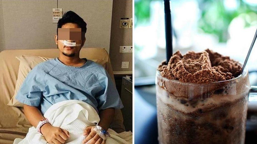 Pria Ini Harus Lakukan Bedah Sinus Karena Terlalu Banyak Minum Es Susu Cokelat!