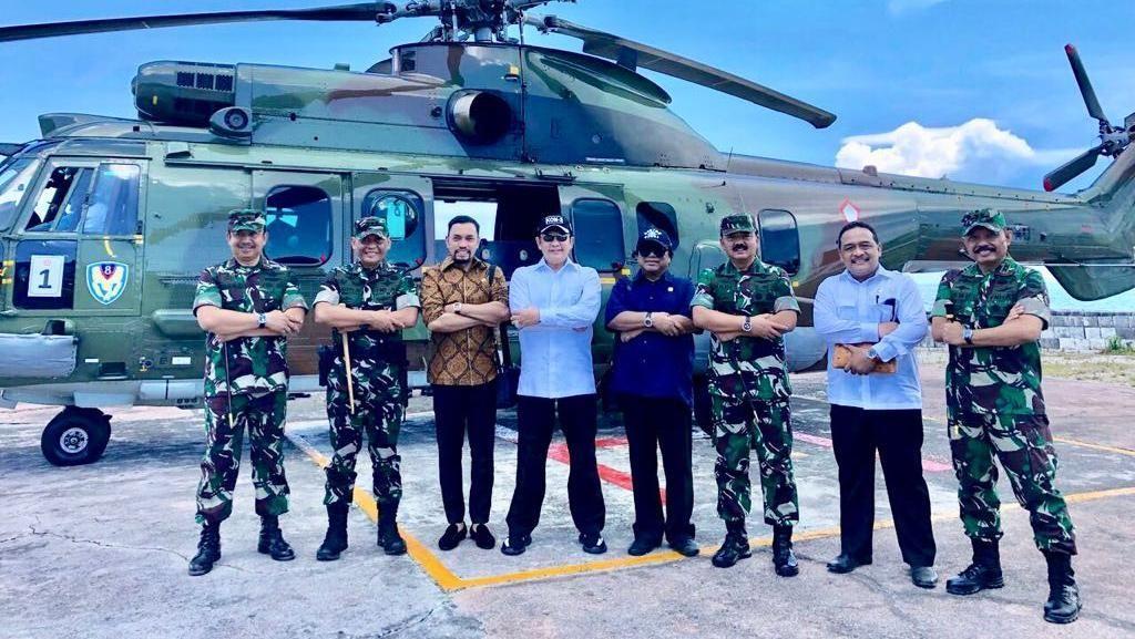 Bamsoet Beberkan Pentingnya Bangun Pangkalan Militer di Natuna