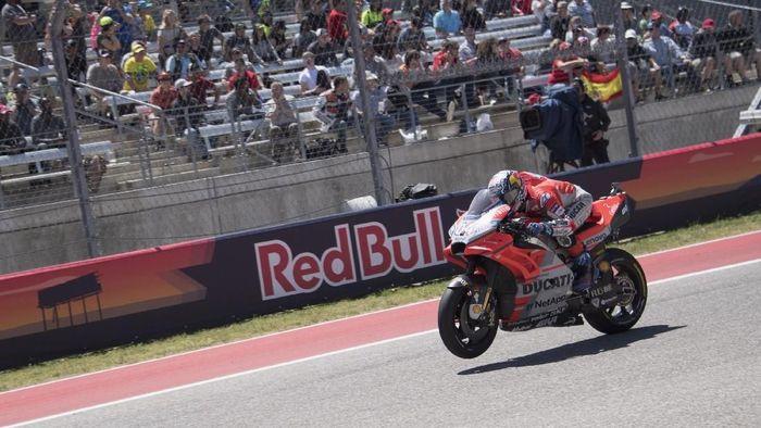 Andrea Dovizioso belum puas dengan kecepatan Desmosedici. (Foto: Getty Images)