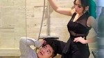 Momen Mesra Berdua Ayu Ting Ting & Boy William di Kamar Mandi