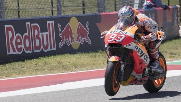 Marquez Tercepat di Sesi Ketiga, Rossi Ketujuh